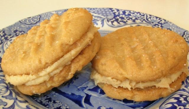 Not Your Ordinary Peanut Butter Sandwich Cookies | Shortbread