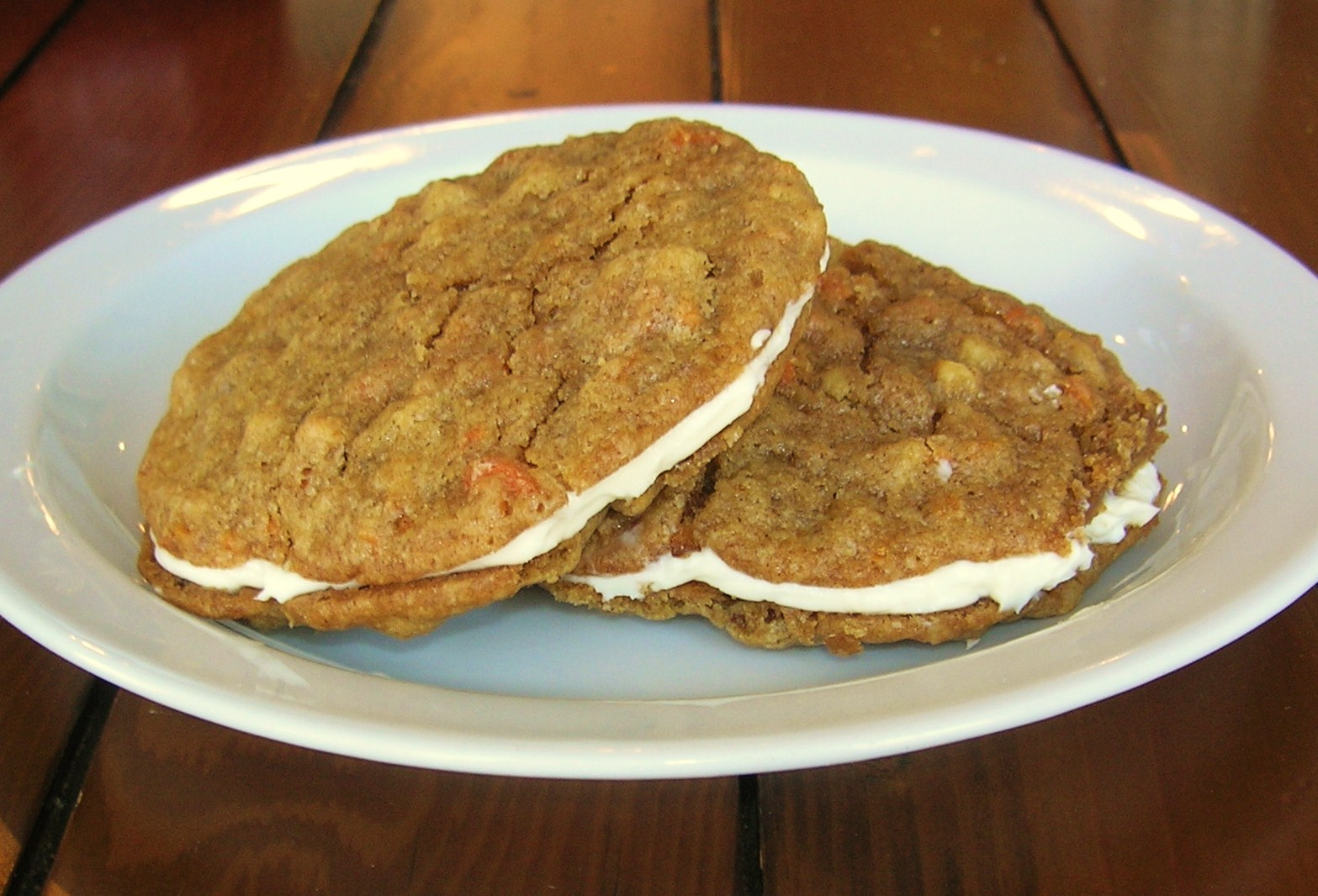 Cookie Carnival Inside-Out Carrot Cake Cookies   Shortbread