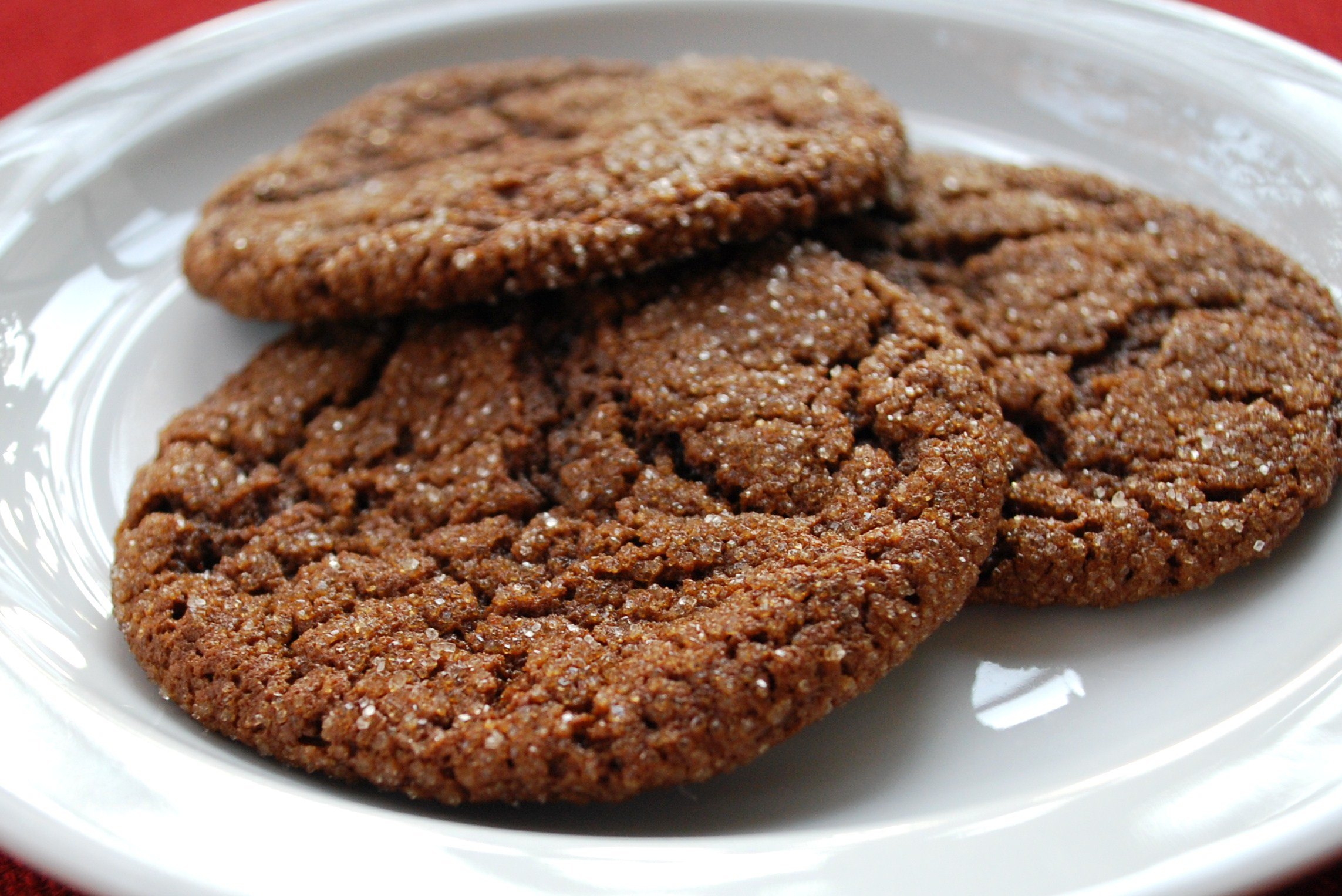 Chocolate Molasses Cookies Recipe