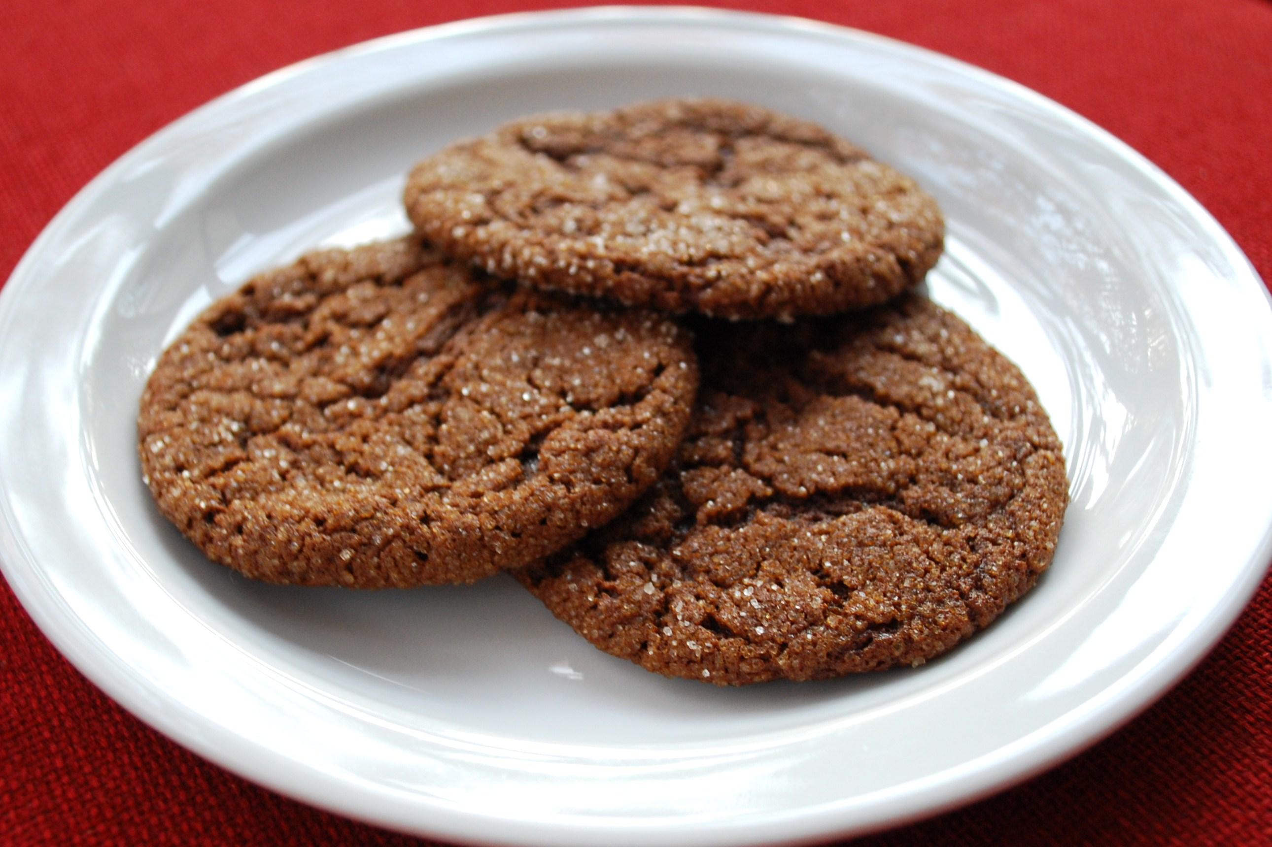 Molasses and Honey Oatmeal Cookies
